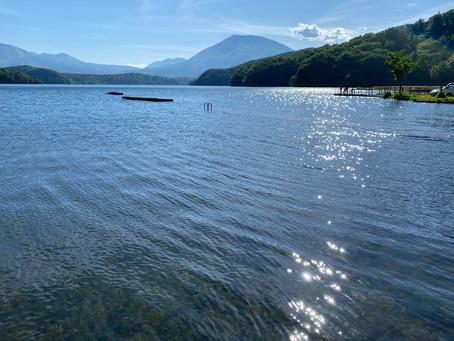 準備完了!野尻湖サップオープンしました。