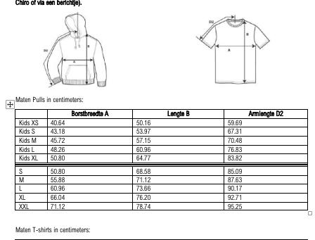verkoop t-shirts en pulls