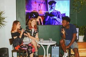 Julianne, Kaite & Matt Muse at Soul & Spirits