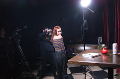 Julianne posing