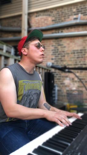 Alex Makris at Memorial Day Music Pop-Up (Part 2)