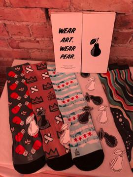 Pear socks at Soul & Spirits