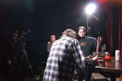 BTS at David shoot