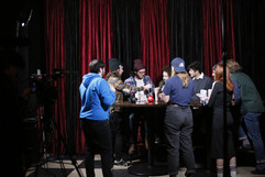 BTS at Hollyy shoot