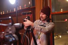Plamer at work at JP shoot