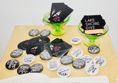 Lake Shore Dive merch at Women's Month party