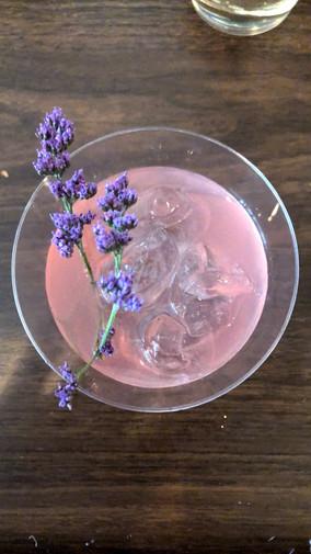 Cosmic Love cocktail at Off-Kilter Mag's Enchanted Ball