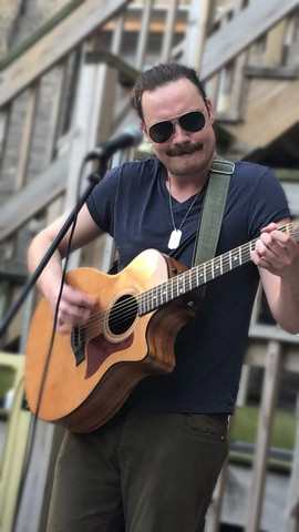 Will Mackie-Jenkins at Memorial Day Music Pop-Up