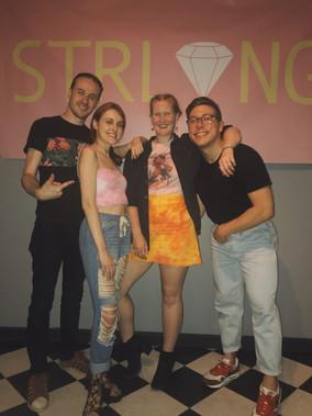Katie, Julainne & STRLING(Jake Ishler & Alex Makris) at Soul & Spirits