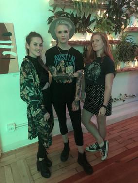 Katie, Julainne & Zoe Rain at Soul & Spirits