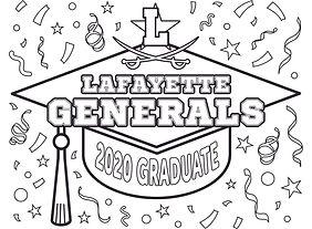 2020 Grad Cap - Lafayette Generals.jpg