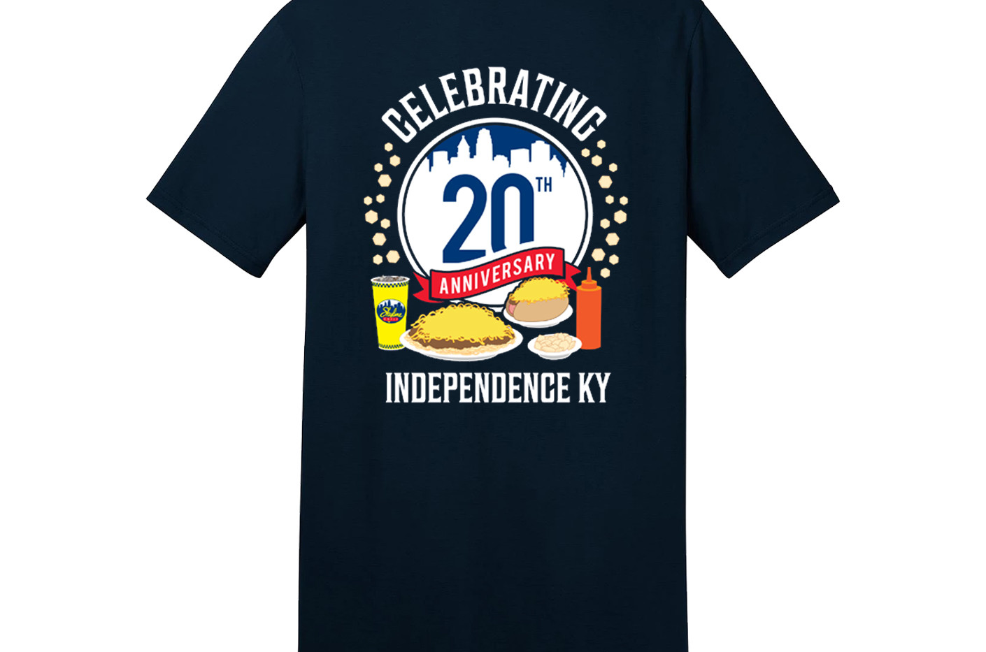 20th Anniversary T Shirt Independence Ba