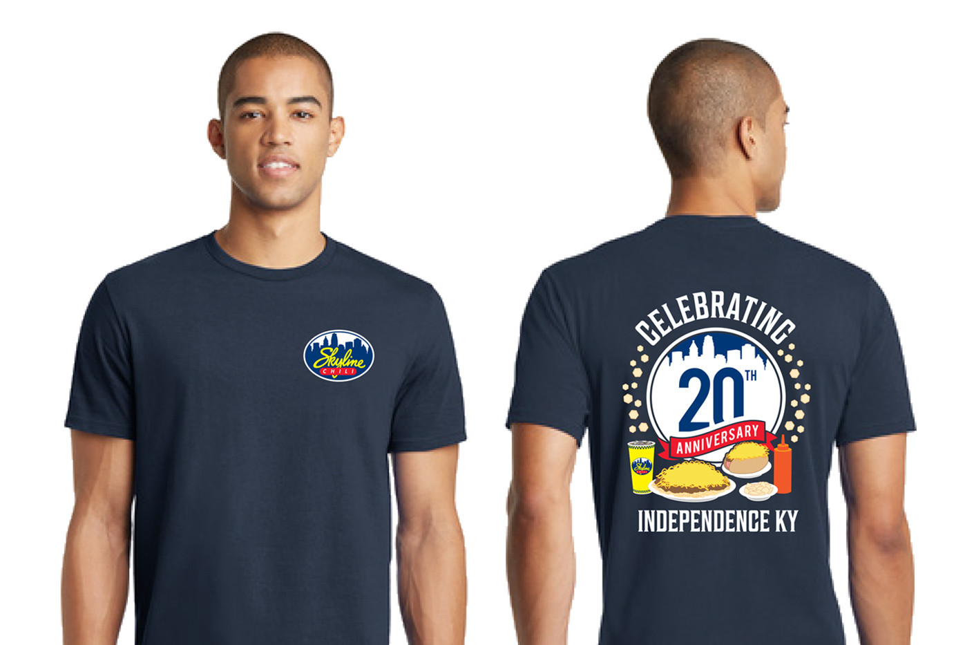 20th Anniversary T Shirt Independence Mo