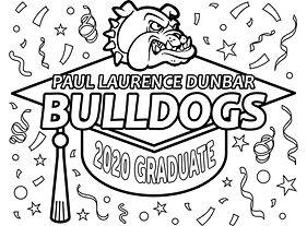 2020 Grad Cap - Paul Laurence Dunbar Bul