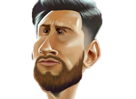 TSG Glass - Leo Messi