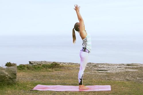 10 minute Vinyasa Flow Yoga - Pre Surf