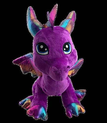 Friendly Purple Dragon