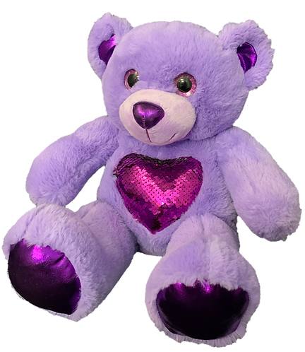 Glitz the Purple Bear