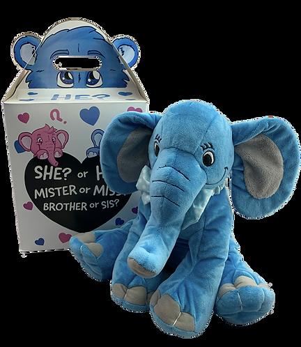 Blue Elephant Gender Reveal Kit (16-inch)