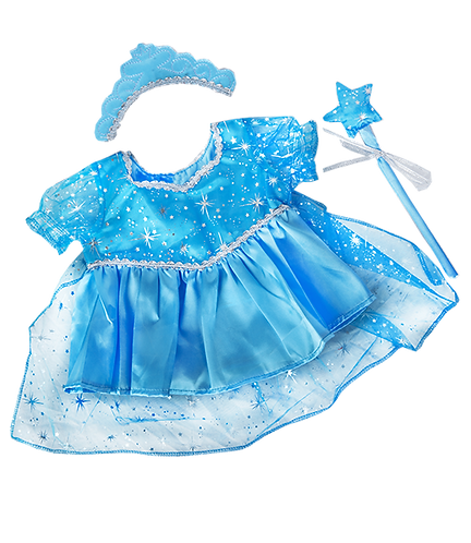 Blue Snow Princess Gown (8-inch)