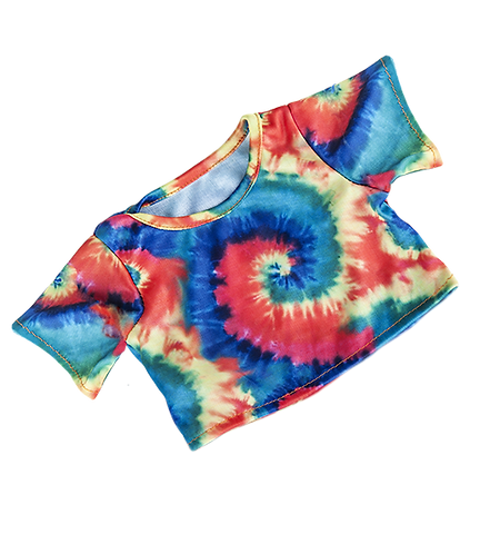 Tie Dye T-Shirt  (8-inch)
