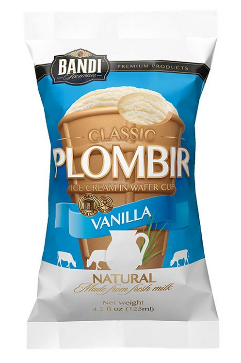 Plombir Vanilla Ice Cream