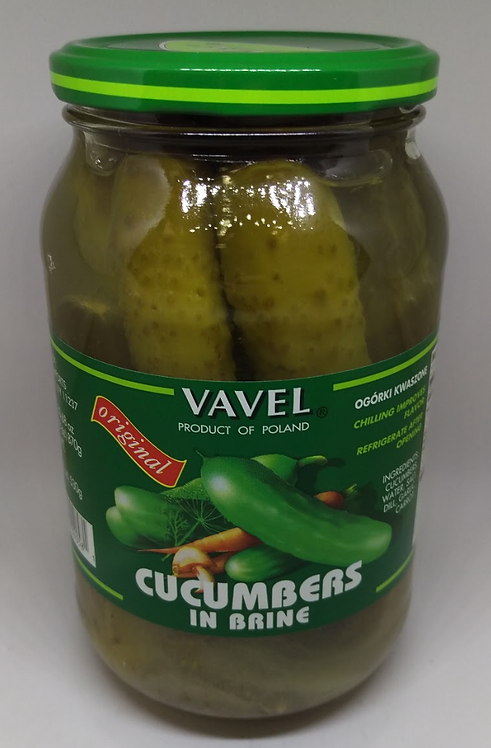 Vavel Cucumbers in Brine
