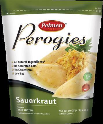 Pierogi: Sauerkraut