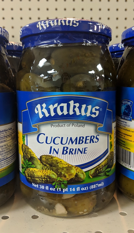 Krakus Cucumber In Brine