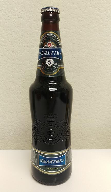 Russian Beer Baltika #6