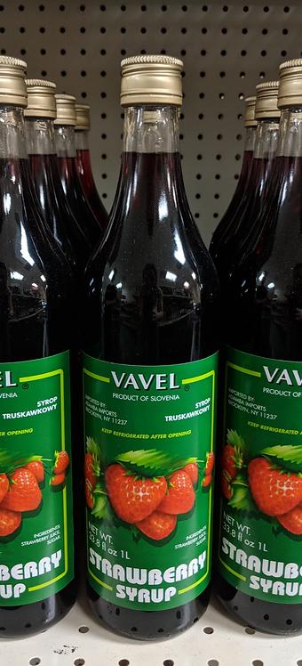 Vavel Strawberry Syrup