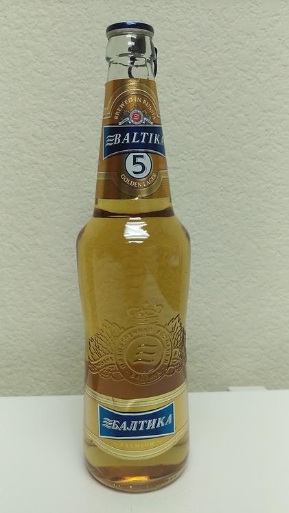 Russian Beer Baltika #5