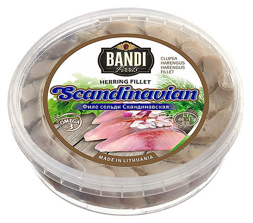 Scandinavian Herring Fillet in Oil