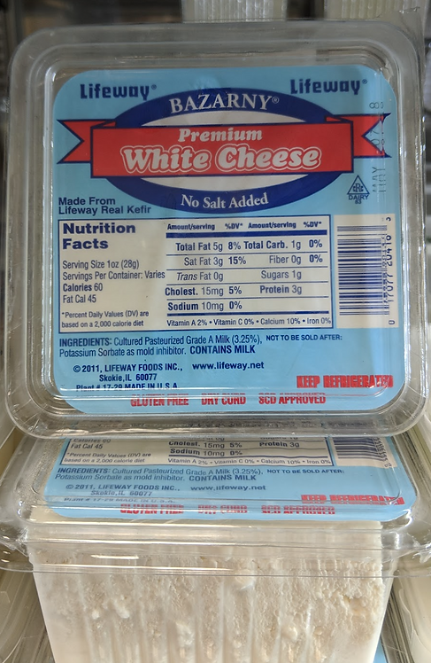Lifeway White Farmer Cheese