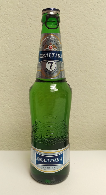 Russian Beer Baltika #7