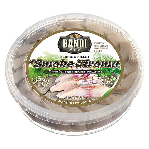 Smoke Aroma Herring Fillet in Oil