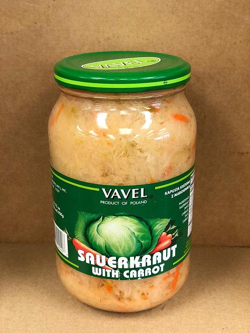 Vavel Sauerkraut w/ Carrot