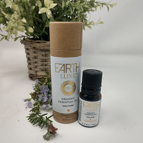 Pure Organic Essential Oil, FRANKINCENSE, Earth Luxe