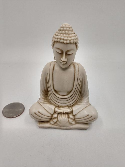 Sitting Buddha, Meditation, Resin