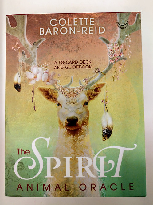The Spirit Animal Oracle, a 68-card deck and guidebook