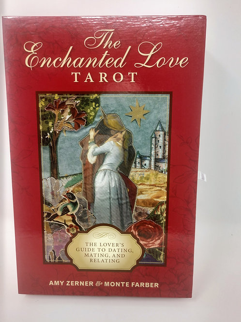The Enchanted Love Tarot, 78-card deck and 176-page guidebook