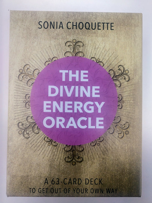 The Divine Energy Oracle, a 63-card deck to get out of your own way