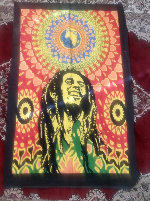 Bob Marley Tapestry, Poster Size