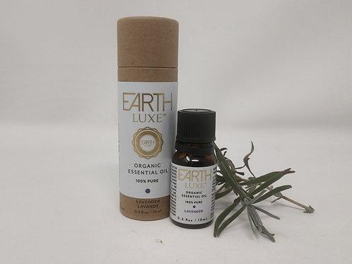 Pure Organic Essential Oil, LAVENDER, Earth Luxe