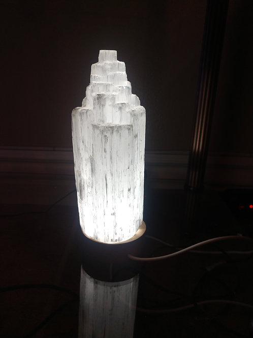 Selenite Crystal Lamp, Small