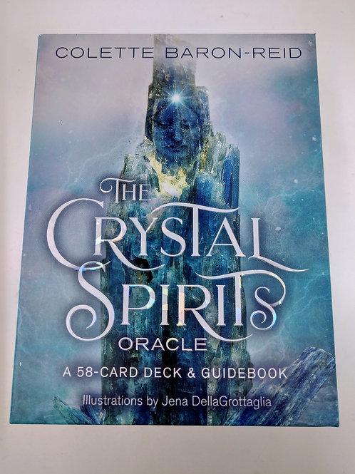 The Crystal Spirits Oracle, a 58-card deck & guidebook