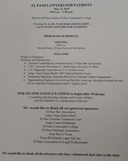 June 2018 program