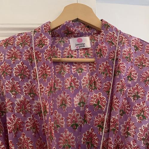 Jaipur Robe Short - Aravalli Blossom