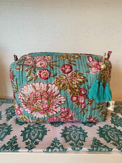 Pichola washbag - Medium floral