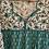Thumbnail: Lotus Dress - Emerald  Forest